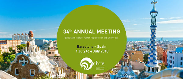 34th Annual Meeting of ESHRE - Barcelona - Spain
