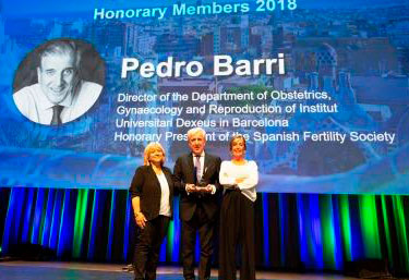 Dr. Pedro N. Barri - Honorary member ESHRE 2018