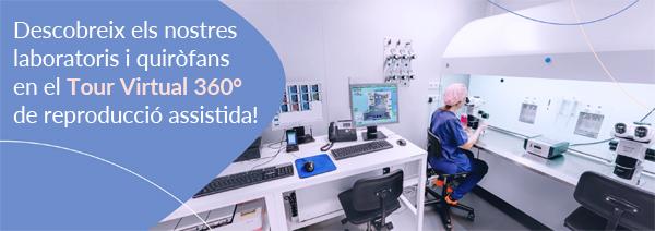 Descobreix els nostres laboratoris i quiròfans en el Tour Virtual 360º de reproducció assistida!