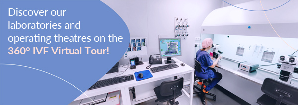 Discover our laboratories and operating theatres on the 360º IVF Virtual Tour!