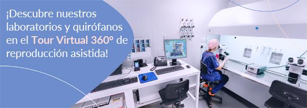 ¡Descubre nuestros laboratorios y quirófanos en el Tour Virtual 360° de reproducción asistida!
