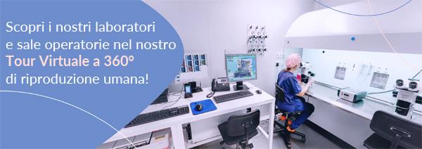 Scopri i nostri laboratori e sale operatorie nel nostro Tour Virtuale a 360º di riproduzione umana!