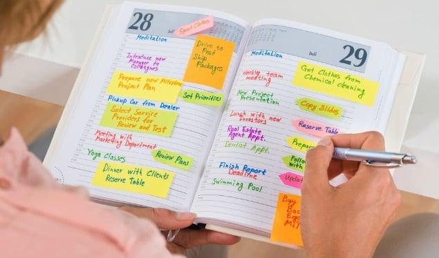 Pon tu agenda ginecológica al día