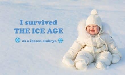 Los bebés que surgieron del hielo