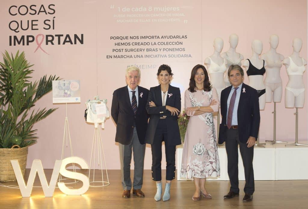 Presentación proyecto Cosas que sí important con Women'secret y Belén Canalejo