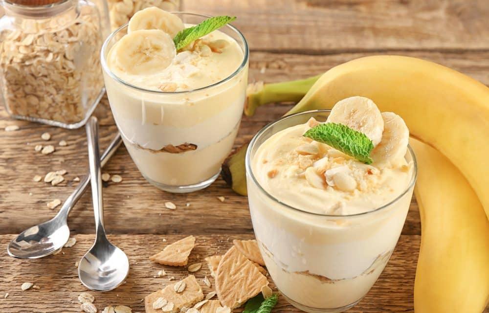 Meriendas irresistibles con plátano para niños