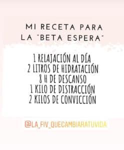 "Lorena Rami, receta para la ""beta espera"""