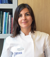Dr Beatriz Álvaro, Responsible for the Polycystic Ovary Syndrome Unit